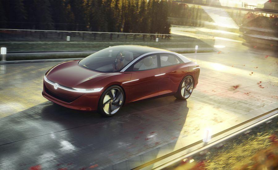 Volkswagen's I.D. Vizzion Sedan Concept Identifies, Attempts to Codify Driverless Future