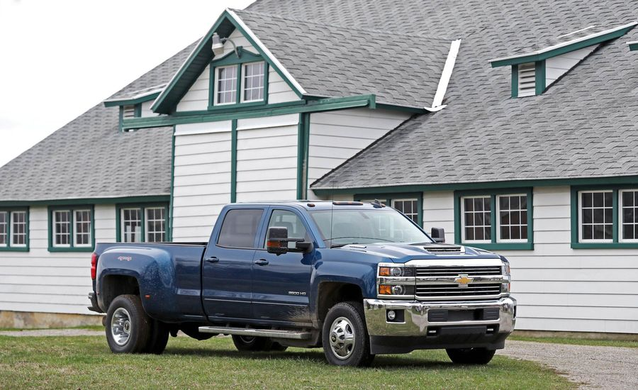 The HD Diesel Pickup Has Attained a Level of Beastliness Bordering on Silly