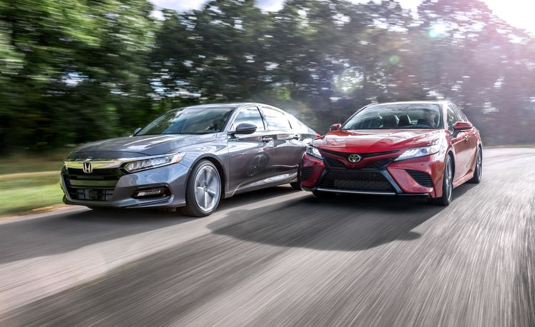 The State of Accord and Camry: All New at the Same Time for the First Time Ever