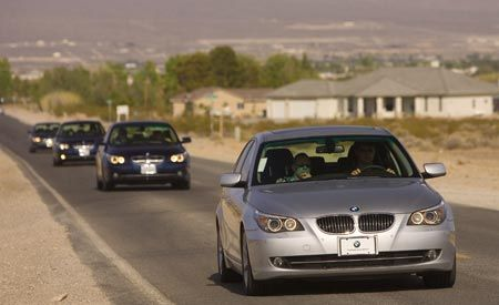 2008 BMW 5-series Rally