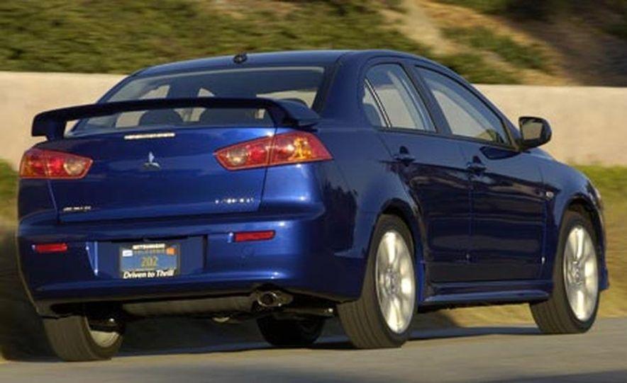 2008 Mitsubishi Lancer - Slide 1