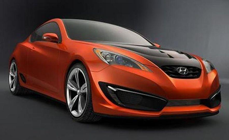 Hyundai Genesis coupe concept - Slide 1