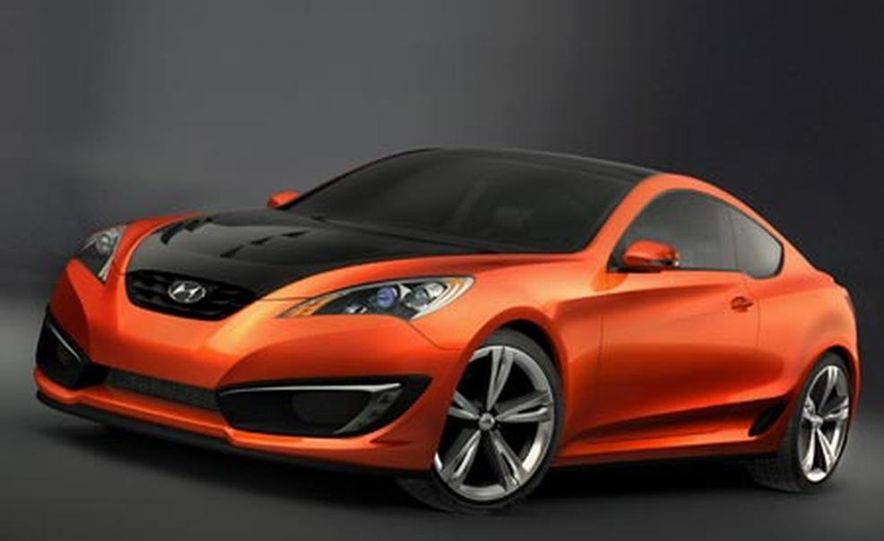 Hyundai Genesis coupe concept - Slide 4
