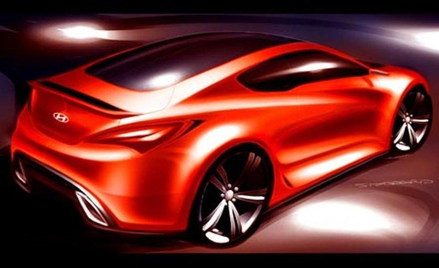 Hyundai Genesis coupe concept - Slide 9