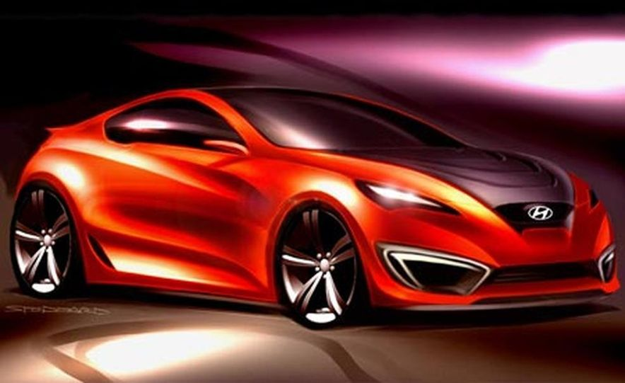 Hyundai Genesis coupe concept - Slide 10