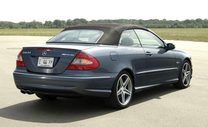 2007 Mercedes-Benz CLK63 AMG - Slide 4
