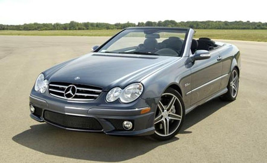 2007 Mercedes-Benz CLK63 AMG - Slide 2