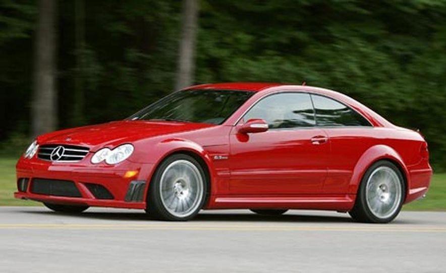2009 Mercedes-Benz CLK coupe - Slide 9