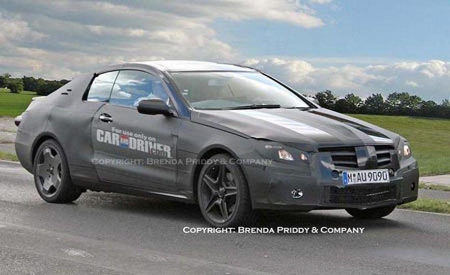 2009 Mercedes-Benz CLK coupe - Slide 4