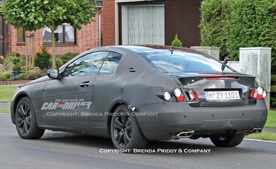 2009 Mercedes-Benz CLK coupe - Slide 7