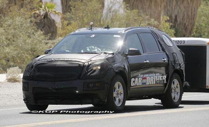 2009 Chevrolet Traverse - Slide 1
