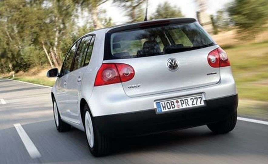 Volkswagen Golf BlueMotion - Slide 1