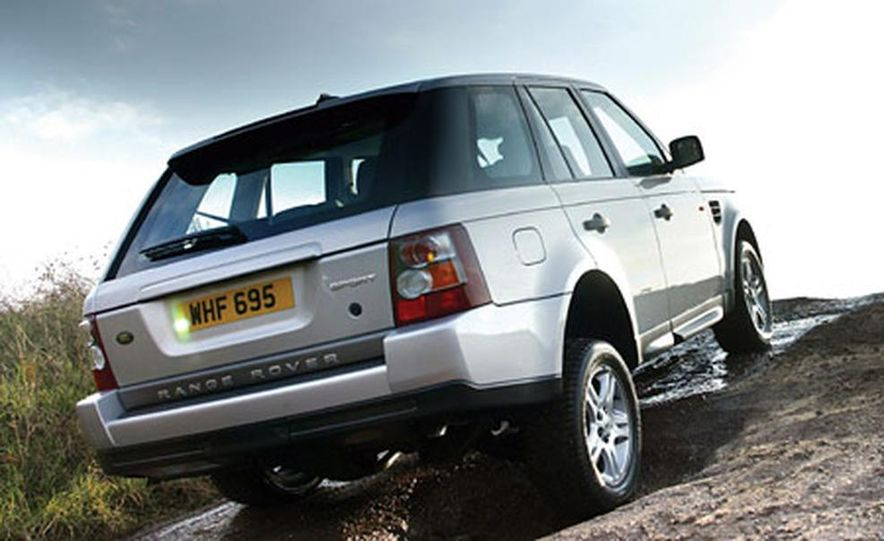 2006 Land Rover Range Rover Sport HSE - Slide 3