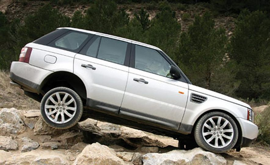 2006 Land Rover Range Rover Sport HSE - Slide 4