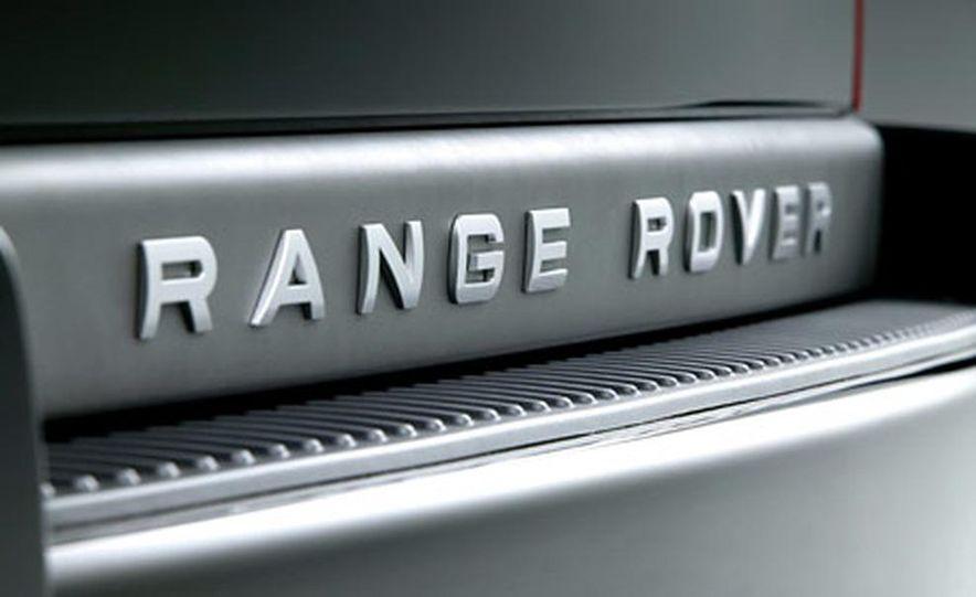 2006 Land Rover Range Rover Sport HSE - Slide 11