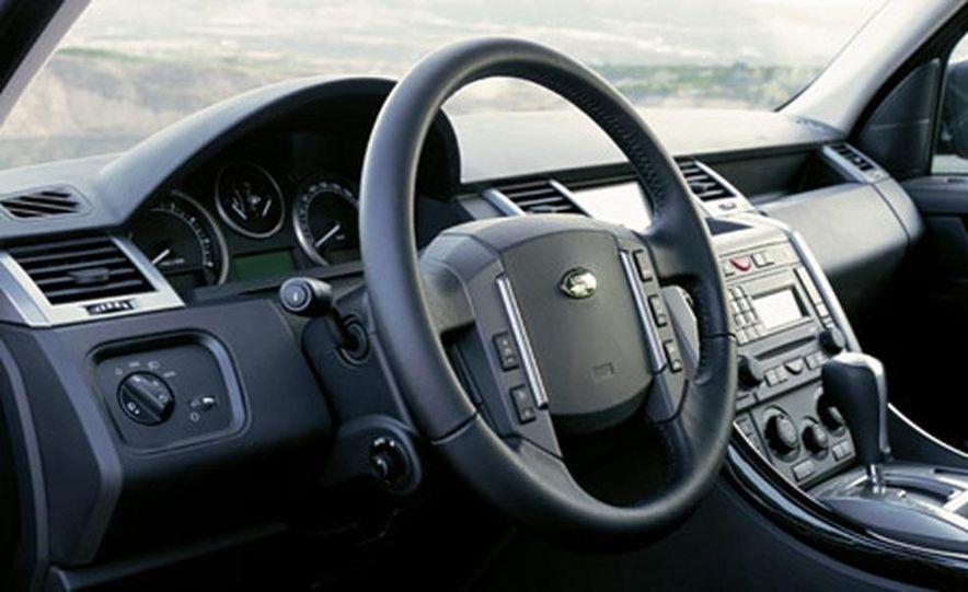 2006 Land Rover Range Rover Sport HSE - Slide 18
