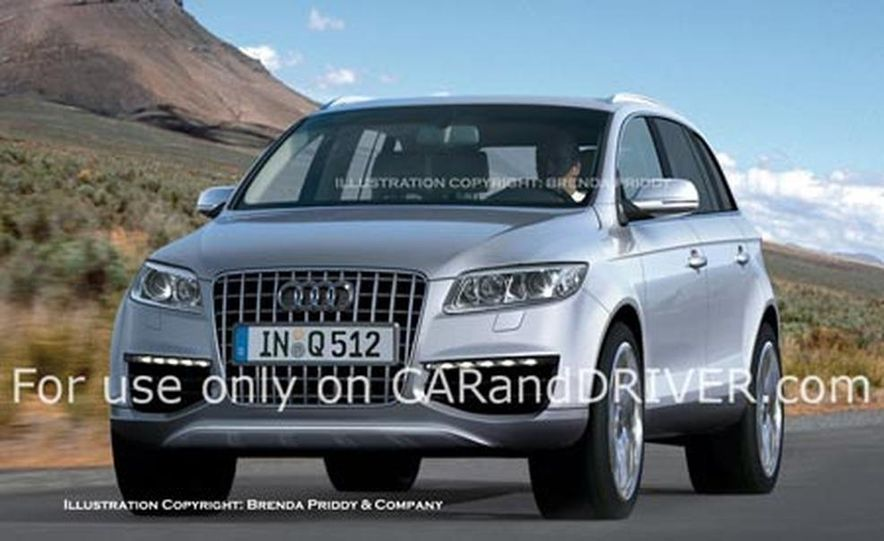 2009 Audi Q5 illustration - Slide 1