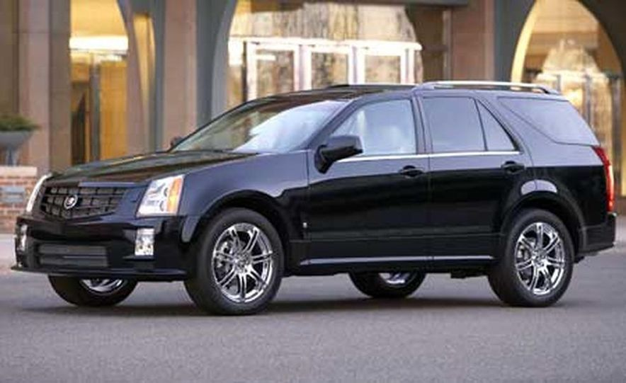 2007 Cadillac SRX - Slide 2
