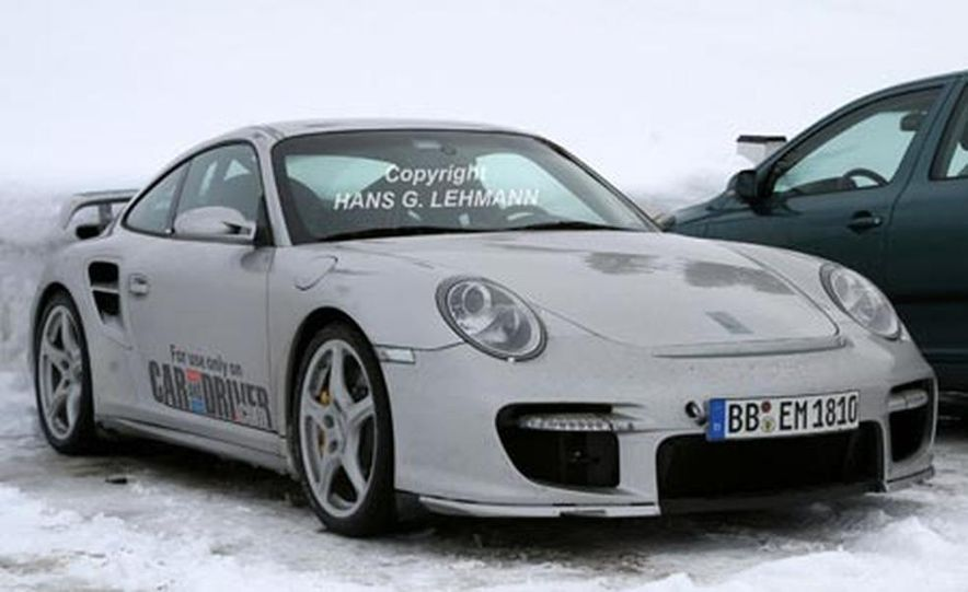 2008 Porsche 911 GT2 - Slide 13