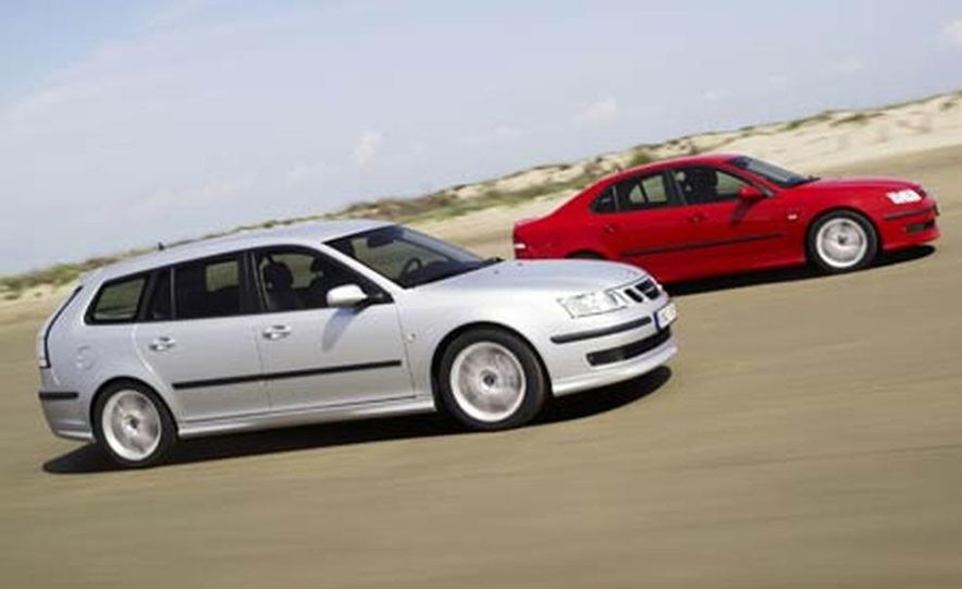 2006 Saab 9-3 sedan and SportCombi wagon - Slide 1