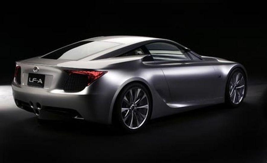 Lexus LF-A concept - Slide 1