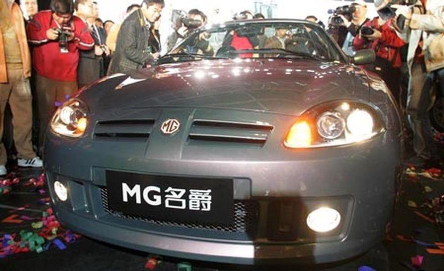 MG TF on the Longbridge assembly line - Slide 2