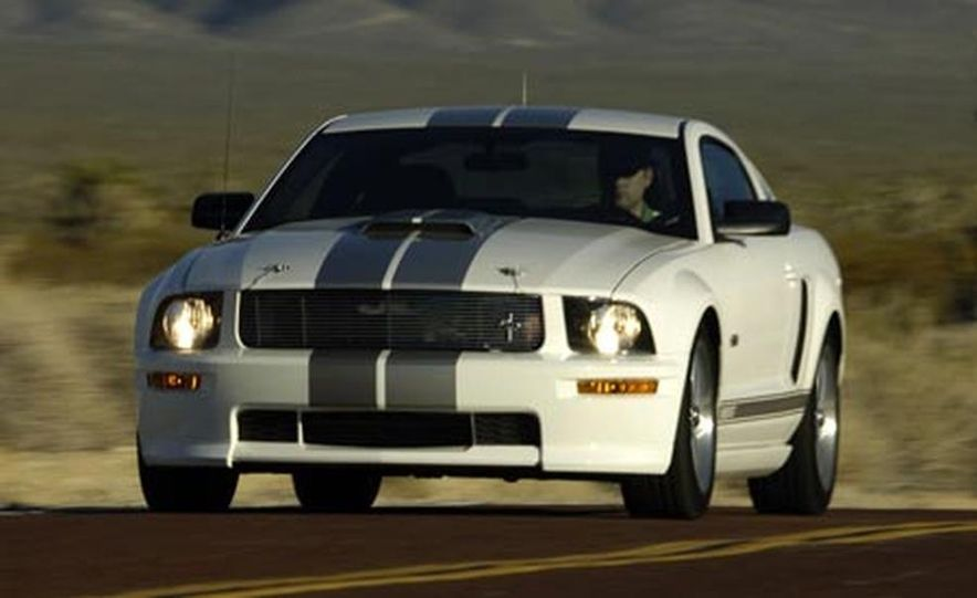 2008 Ford Mustang Shelby GT convertible - Slide 8