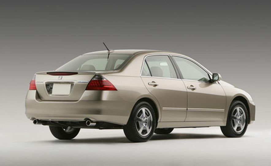2007 Honda Accord hybrid - Slide 1