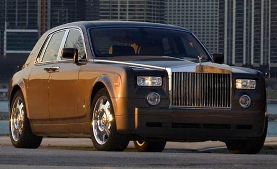 2007 Rolls-Royce Phantom Silver - Slide 5