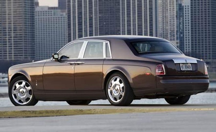 2007 Rolls-Royce Phantom Silver - Slide 6