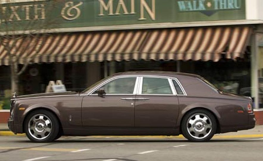 2007 Rolls-Royce Phantom Silver - Slide 7