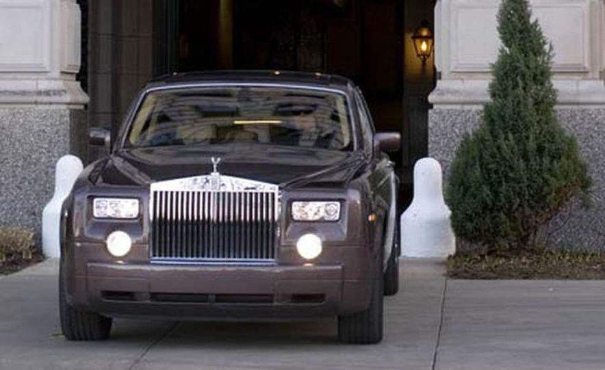 2007 Rolls-Royce Phantom Silver - Slide 8