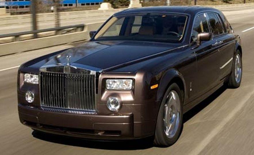 2007 Rolls-Royce Phantom Silver - Slide 9
