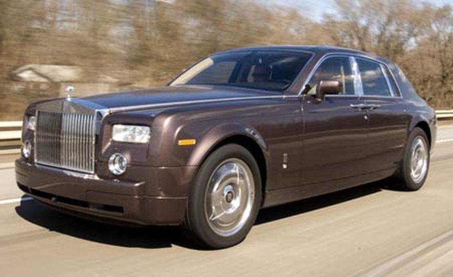 2007 Rolls-Royce Phantom Silver - Slide 10