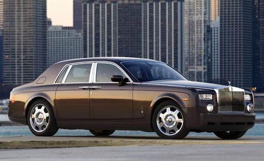 2007 Rolls-Royce Phantom Silver - Slide 11