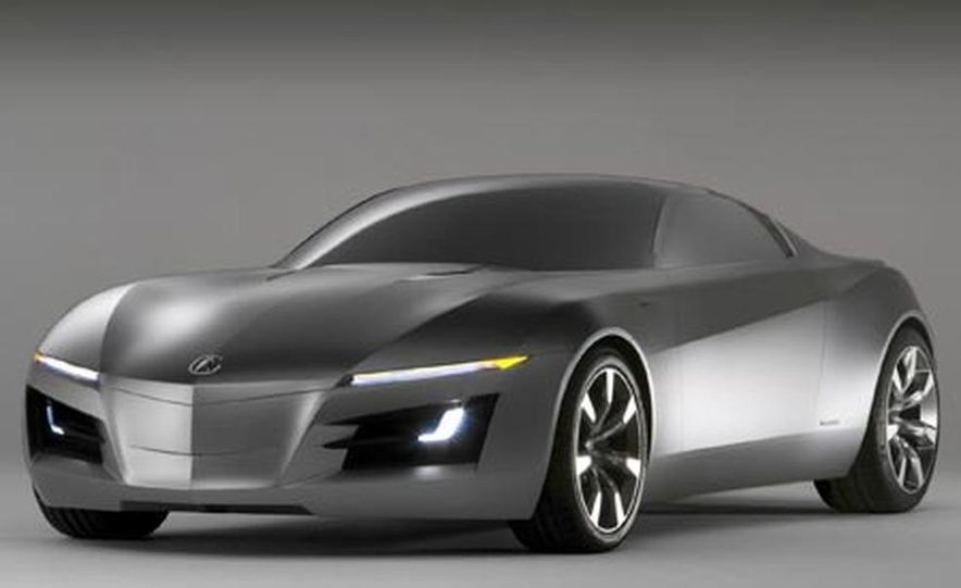 Acura Advanced Sports Car concept - Slide 1