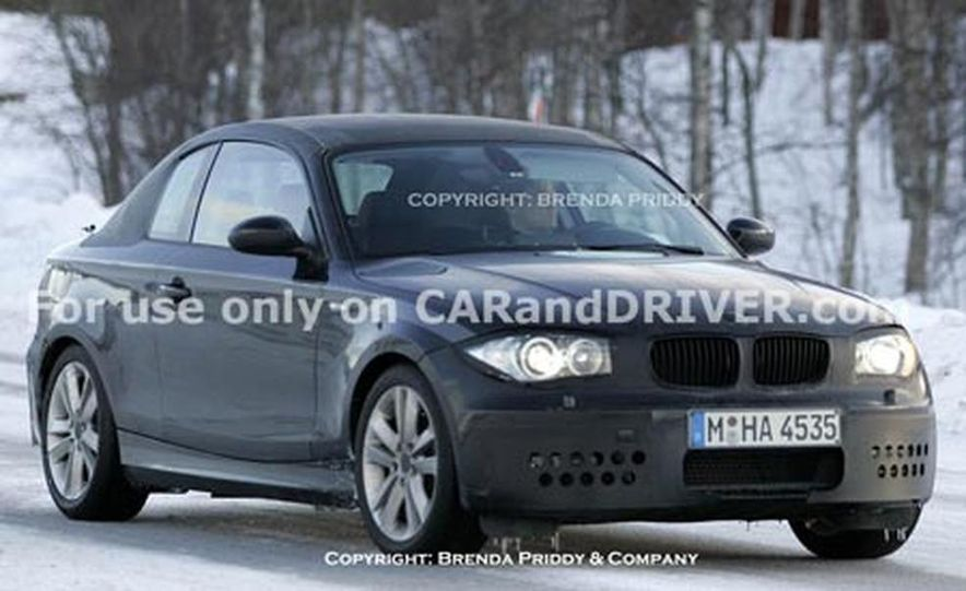 2009 BMW 1-series coupe - Slide 2