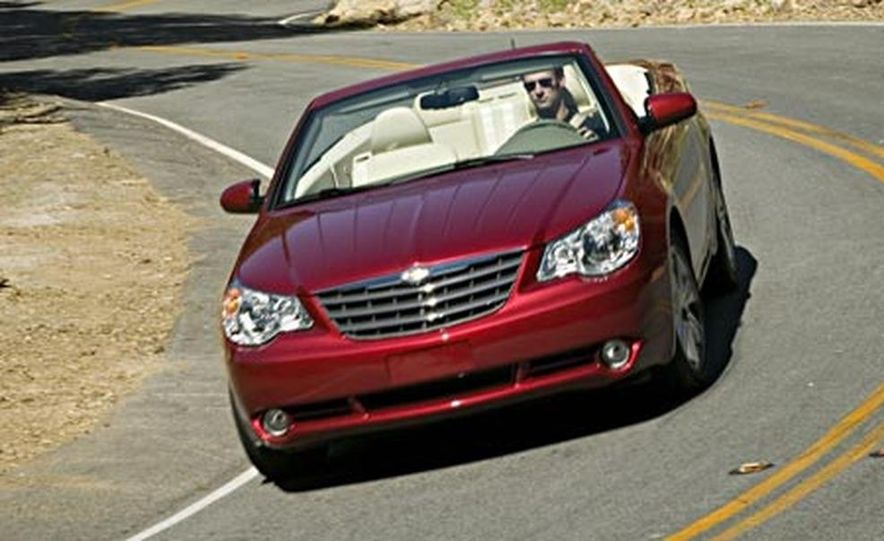 2008 Chrysler Sebring convertible - Slide 1