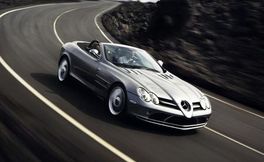 2008 Mercedes-Benz SLR McLaren roadster - Slide 1