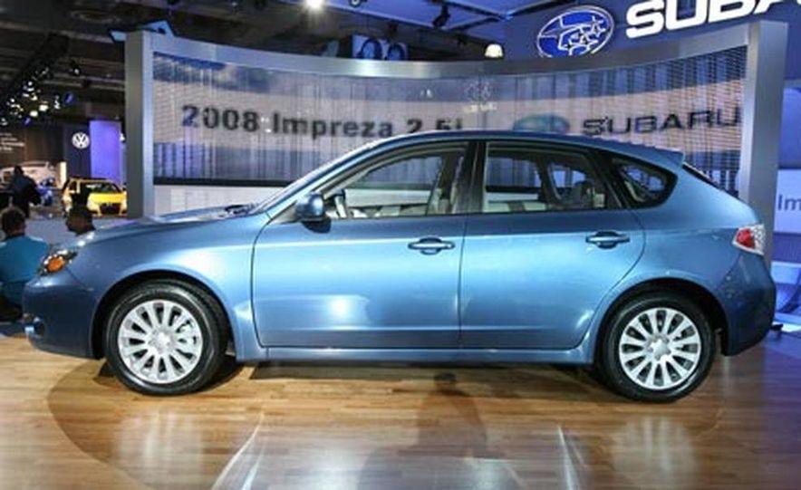 2008 Subaru Impreza hatchback - Slide 1