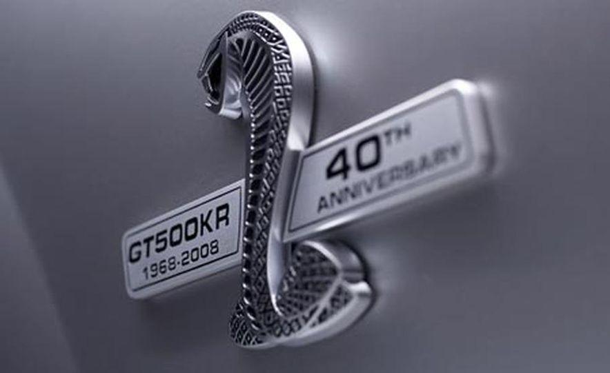2008 Ford Mustang Shelby GT500KR - Slide 6