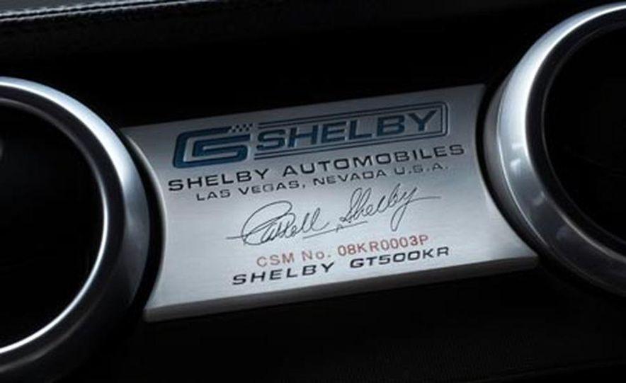 2008 Ford Mustang Shelby GT500KR - Slide 12