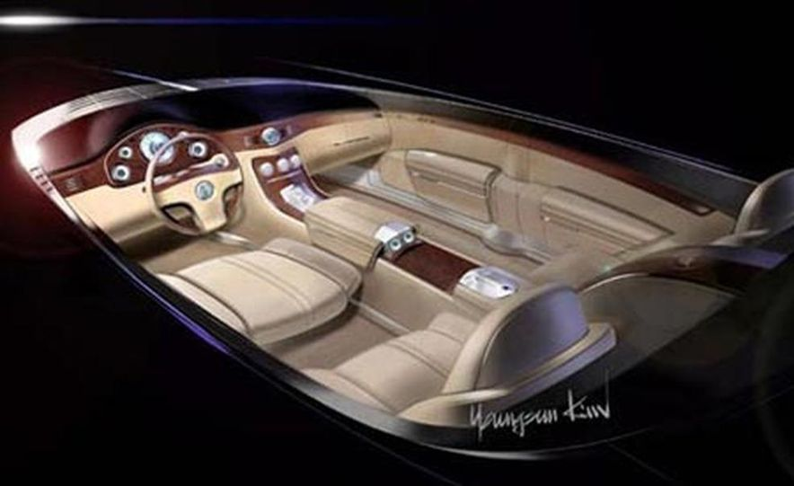 Cadillac Sixteen concept - Slide 11