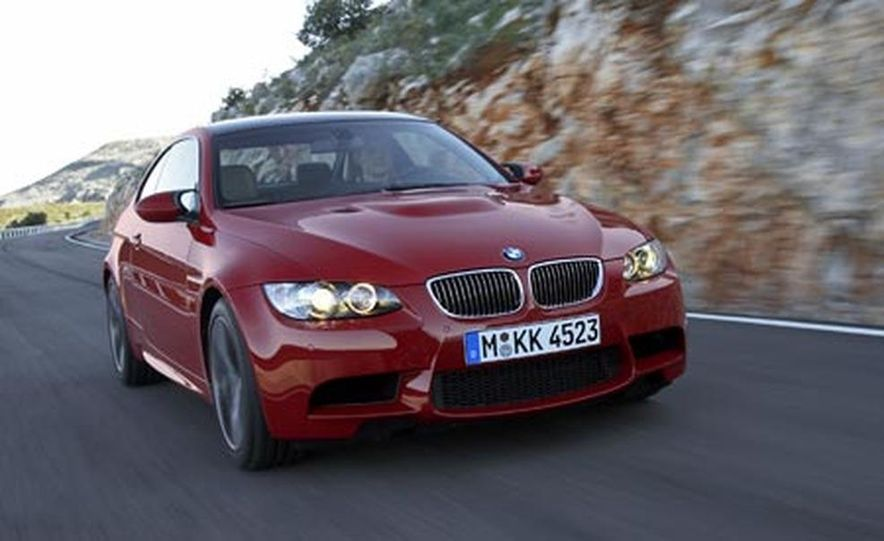 2008 BMW M3 coupe - Slide 1