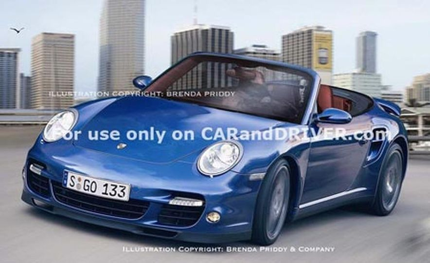 2008 Porsche 911 Turbo cabriolet - Slide 9
