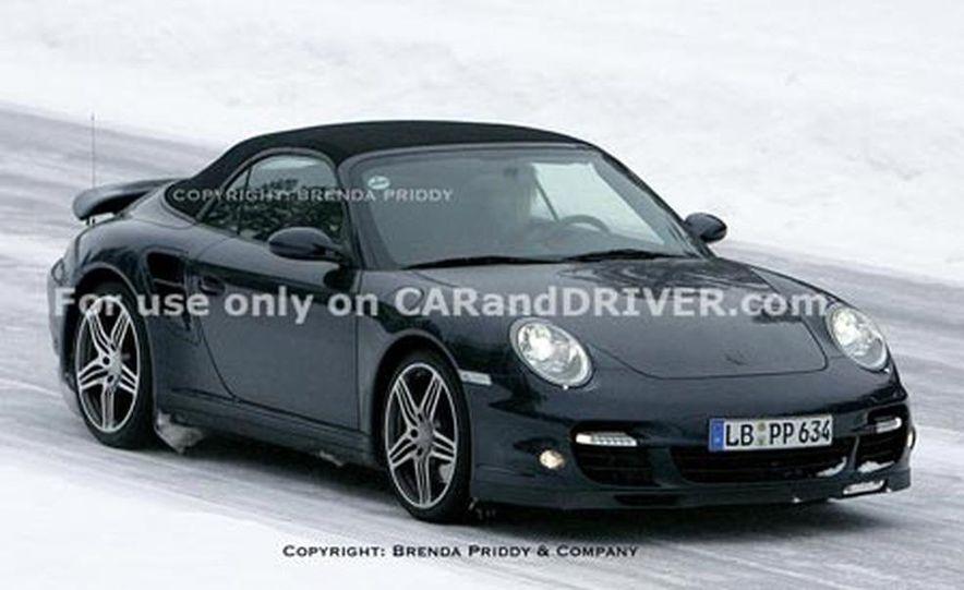 2008 Porsche 911 Turbo cabriolet - Slide 1