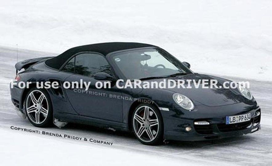 2008 Porsche 911 Turbo cabriolet - Slide 8