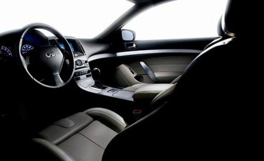 2008 Infiniti G37 coupe interior - Slide 1