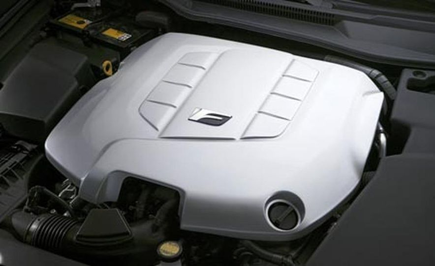 2008 Lexus IS-F - Slide 10