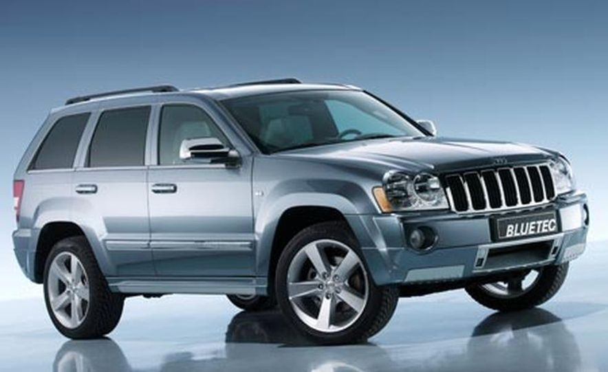 Jeep Grand Cherokee BlueTec concept - Slide 1